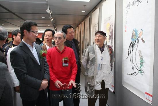 """""""2010年绍台两岸书画作品展""""在绍兴鲁迅纪念馆开幕"""