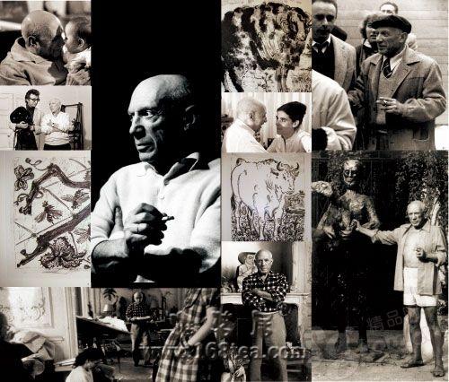 毕加索现身 挚友克雷格展出毕加索私人照片(图)