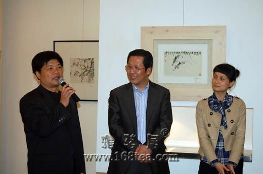 波尔多之夜-谢海水墨作品赏析晚会在杭州秀空间艺术会所举行
