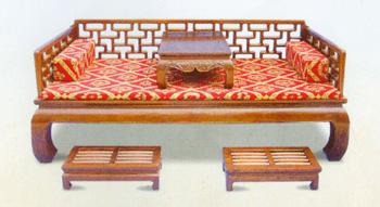 古典家具中的床类-罗汉床(图)