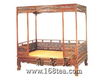 古典家具中的床类-架子床(图)