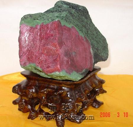 红宝石原石欣赏