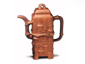 名师紫砂壶为何天价:紫砂壶成被炒对象 工艺大师现身说法