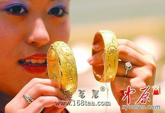 郑州黄金逼近历史最高价 价格升至342元/克