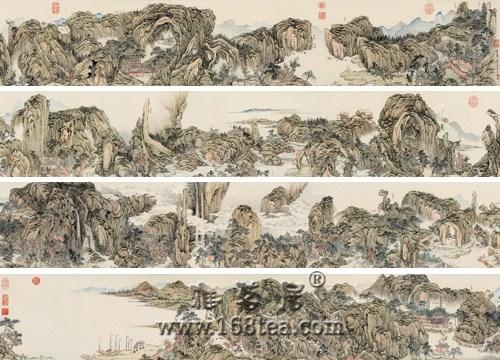 清代钱维城国画手卷《雁荡图》 保利1.2992亿元成交
