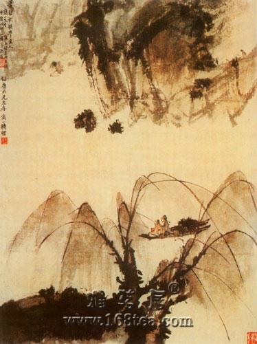 辽博馆藏20世纪名家绘画在山西博物院展出