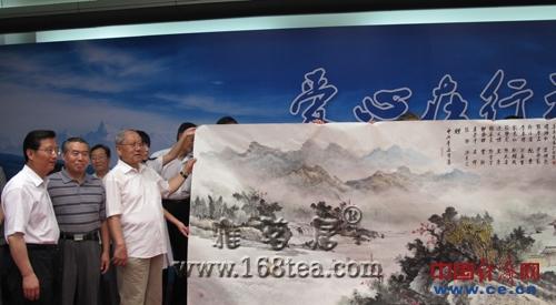 北京老将军向玉树灾区捐赠图书书画仪式在京举行
