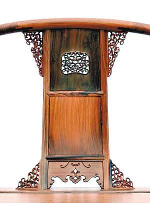 璀璨的天成皇宫红木家具椅(组图)