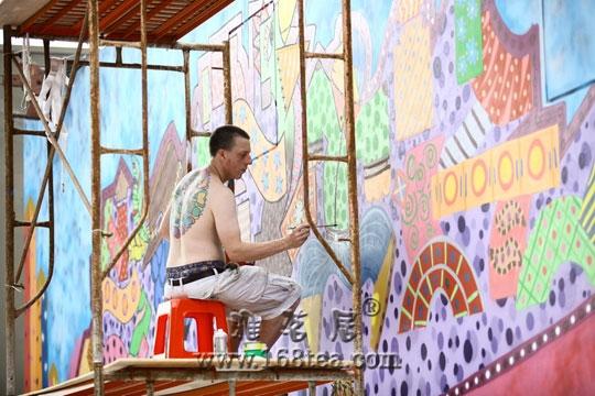 世博深圳馆 艺术家助阵大芬国际壁画展
