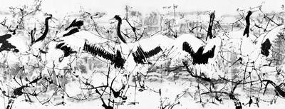 杨正新画展在上海中国画院开幕