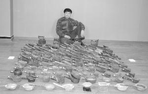 南京藏家痴迷熨斗 1.2万元淘得西汉青铜熨斗