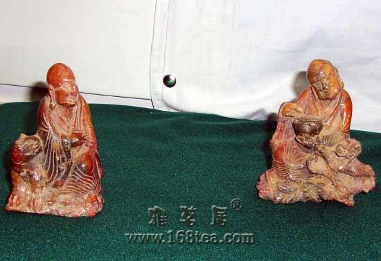 古船出土元代寿山石雕罗汉引关注