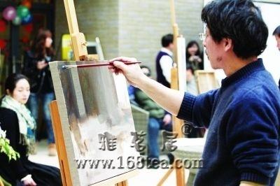 千万级大师武汉美术馆同场斗画