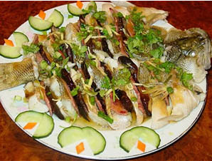 红茶蒸鲈鱼