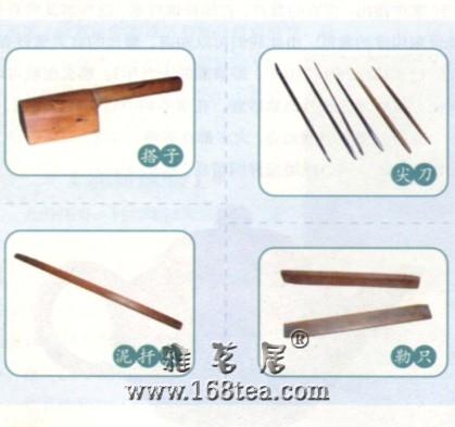 紫砂壶制作常用工具
