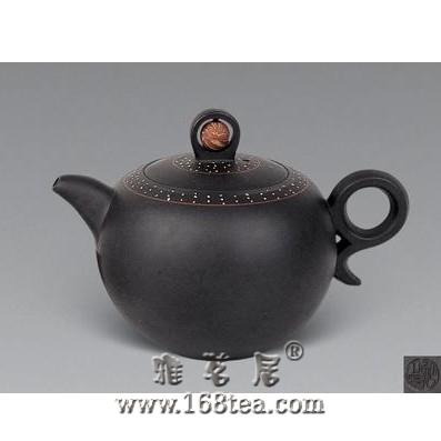 紫砂壶的装饰—镶嵌工艺