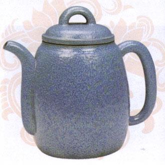 紫砂壶的装饰—炉钧釉