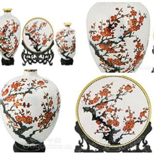 瑞典王国与中国彩绘瓷器