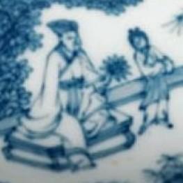 明中期瓷器之人物纹特点