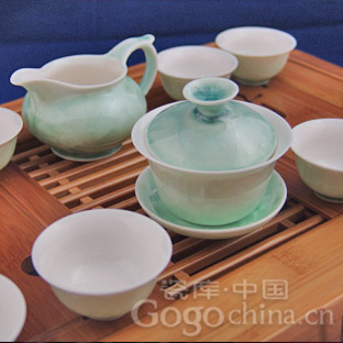 结晶釉茶具的历史