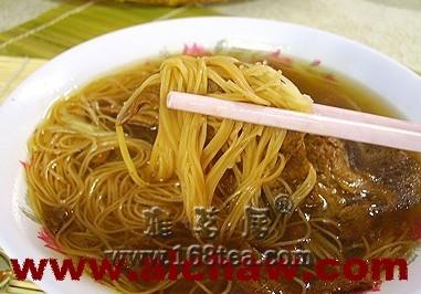茶籽油面线|茶籽油面线的做法