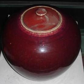 祭红瓷器的产生