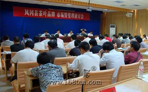 凤冈举办茶叶品牌、市场暨管理研讨会(图)