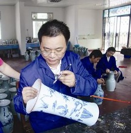 古陶瓷修复过程