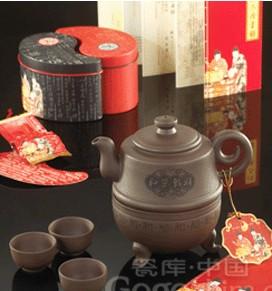 新买紫砂茶具的泡养方法