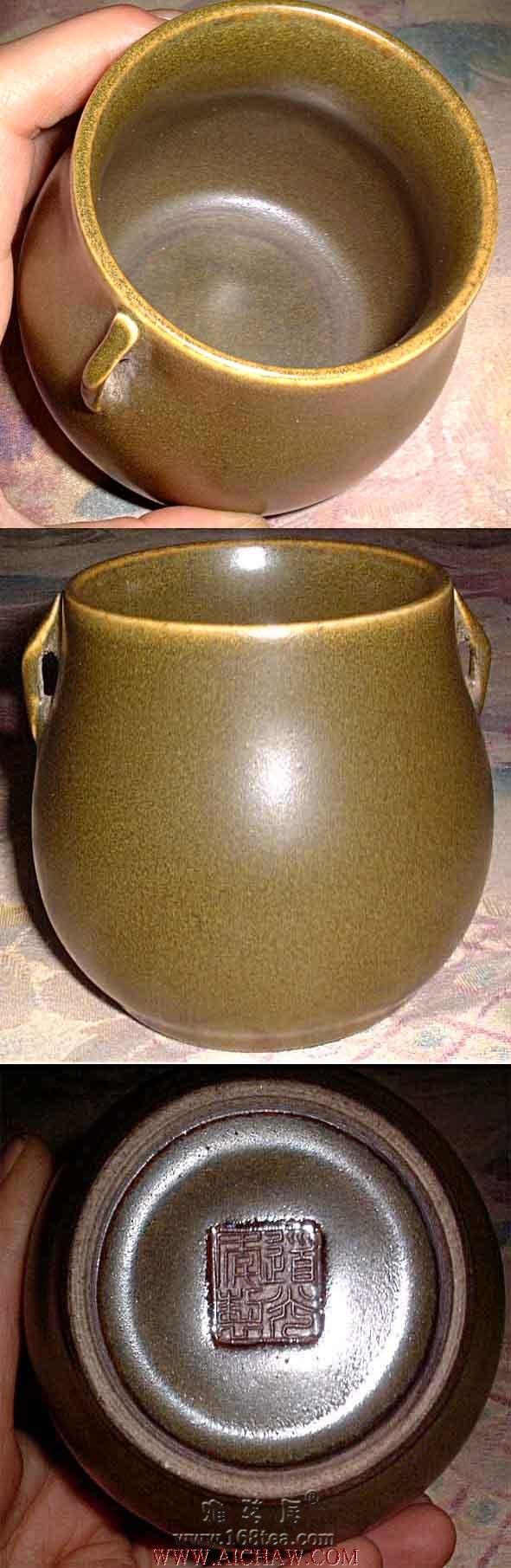 茶叶末制作成的工艺品