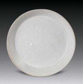 宋代定窑的印花纹饰题材