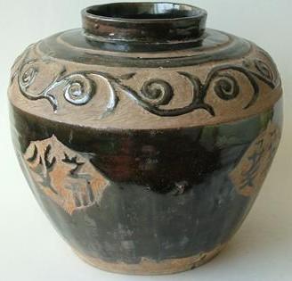 西夏陶瓷的装饰技法