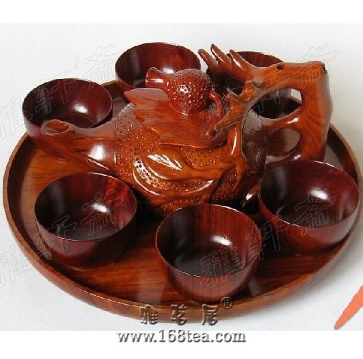 红木茶具的保养