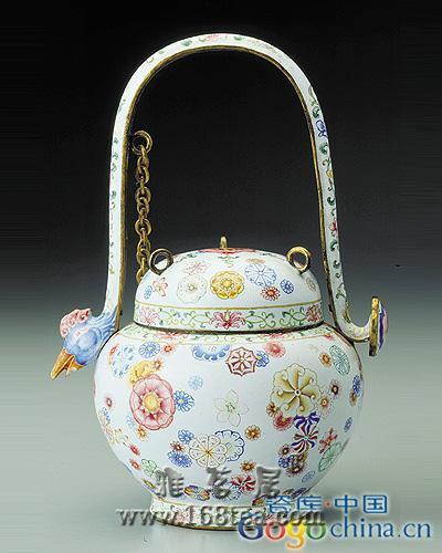 雍乾故宫极品珐琅彩瓷器