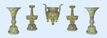 明、清官窑瓷器的造型分类(图)