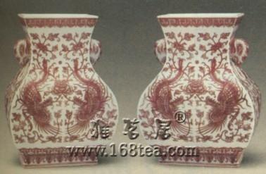 如何鉴别乾隆釉里红瓷与后仿品