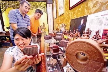 天津市建成首家紫砂原矿主题紫砂展馆
