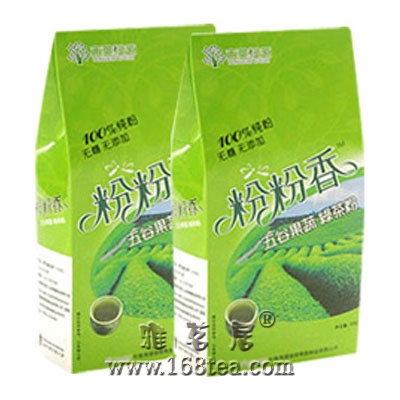 绿茶+薏仁粉减肥法