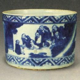 雍正青花瓷的器型有何特点?—瓷器问答第六十七问