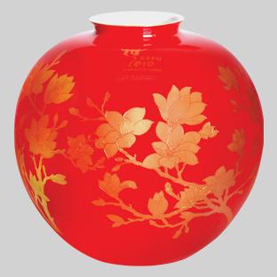 中国红瓷收藏现上涨势头,引收藏投资者关注