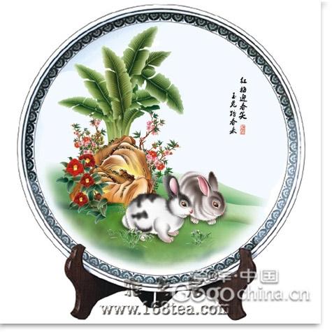 中秋节礼品玉兔捣药传说