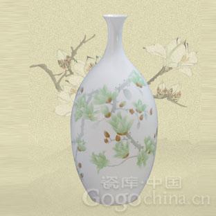 限量上海世博收藏品海上盛世高档陶瓷花瓶