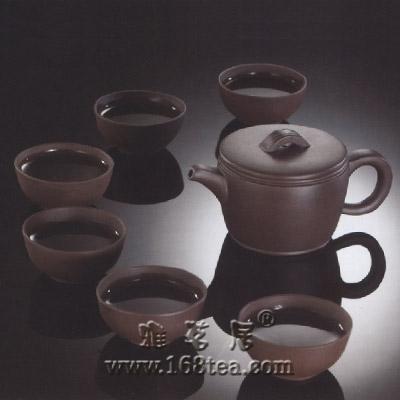 紫砂壶的泥料与茶