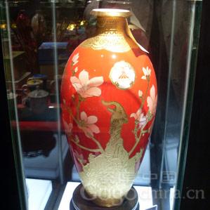 亚运收藏系列纪念品之欢乐羊城花瓶