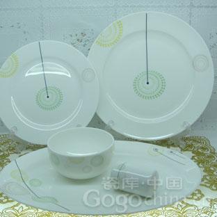 如何选购陶瓷餐具