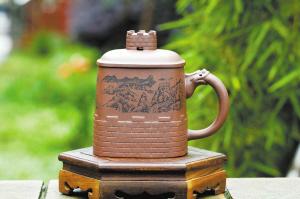 王卫良:艺术与需求结合的紫砂杯