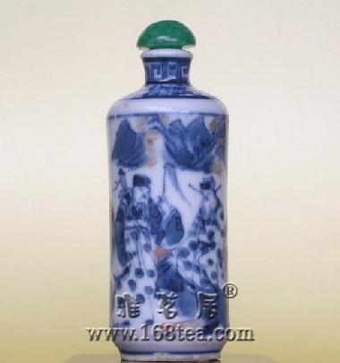 嘉庆与光绪时期的青花釉里红瓷有什么异同
