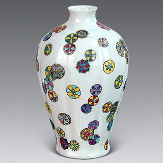 瓷器装饰纹饰之皮球花纹