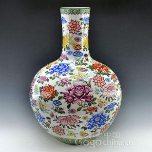 瓷器装饰纹饰之十二月花图