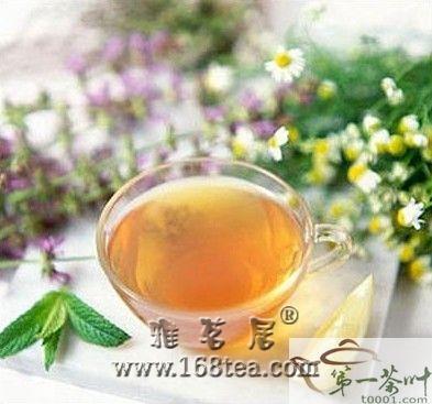 秋季喝花茶能养生?